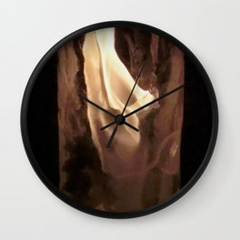 Fire from Ice - FredPereiraStudios.com_Page_31 Wall Clock