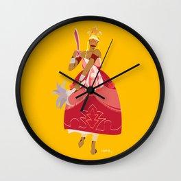 ORIXAS_ iansã Wall Clock