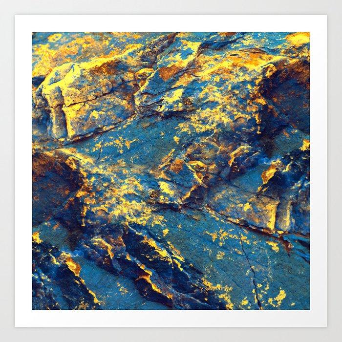 GOLDMINE Art Print