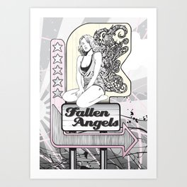 Fallen Angels Art Print