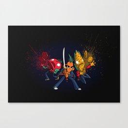 Food Fight Canvas Print