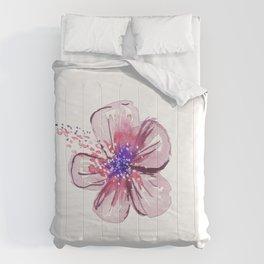 Little Lilac Flower Comforters
