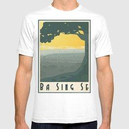 Ba Sing Se Travel Poster T-shirt
