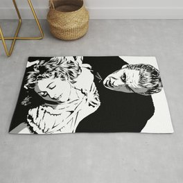 The Terrifying Lover (Mono) Rug