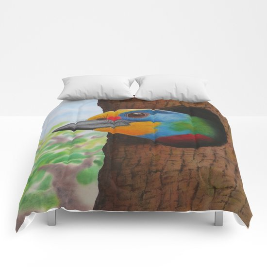 Beautiful Bird Comforters