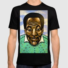 Bill Cosby Mens Fitted Tee X-LARGE Black