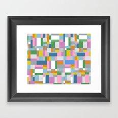 New Map #4 Framed Art Print
