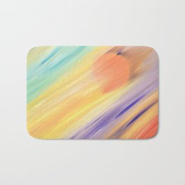 """Catch the Sun #1 – New #1"" Oil Painting Bath Mat"