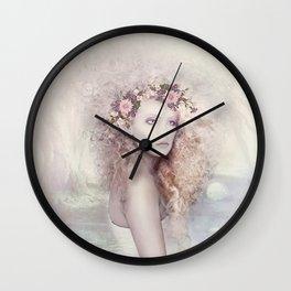 Elvish Beauty Wall Clock