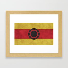 Iron Clade Colors Framed Art Print