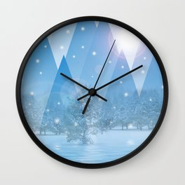 Magic Winter 54 Wall Clock