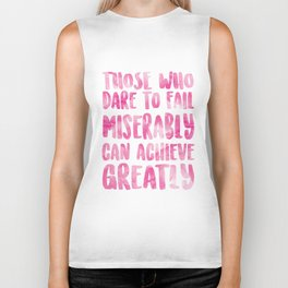 Achieve Greatly Biker Tank