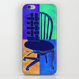 Take a Seat iPhone Skin