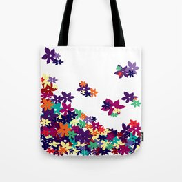 Flowered Up Tote Bag