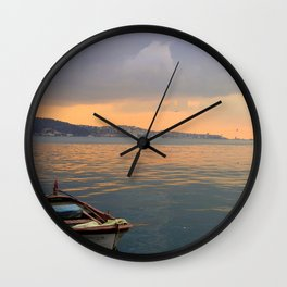 City of Mystery (1) Wall Clock