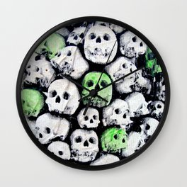 SKULL, by Ludo Wall Clock