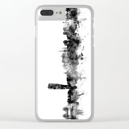 Malmo Sweden Skyline Clear iPhone Case