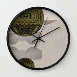 Opposed 3D 1 Wall Clock