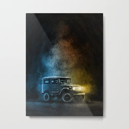 Land cruiser Legends FJ40 1 of 3 Metal Print