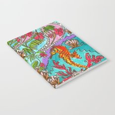 Seahorse Paisley Notebook