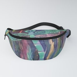 Dragonflies in blue Fanny Pack