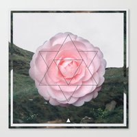 sacred geometry Canvas Prints featuring Sacred Geometry by Steffie Alex