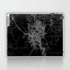 Colorado Springs map Colorado Laptop & iPad Skin