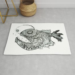 the iron fish Rug