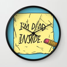 I'm Dad Inside Wall Clock