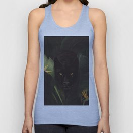 Hello Panther! Unisex Tank Top