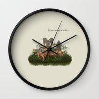 nicki Wall Clocks featuring O.M.G. by gasponce