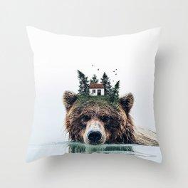 House Guardian Throw Pillow