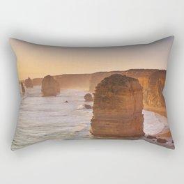 VII - Twelve Apostles on the Great Ocean Road, Australia at sunset Rectangular Pillow
