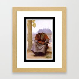 Bouguereau's Invisible Bohemian Framed Art Print