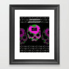 2013 Tension Tour Framed Art Print