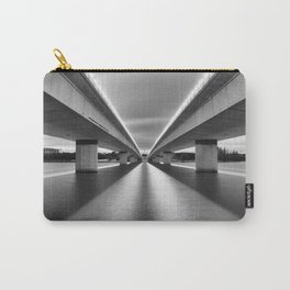 Straight Lines Carry-All Pouch