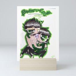 Buttercup x Butch-ppg Mini Art Print