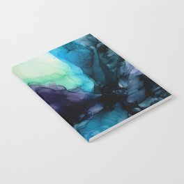 Sweet Pea Pastel Abstract Chaos | Calming Fluid Art Notebook