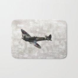 Spitfire, WWII Bath Mat