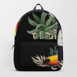 Tropical Bird Motif Gift Idea Design Motif Backpack