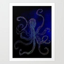 split octo personalities Art Print