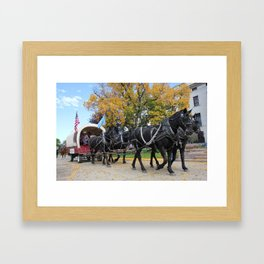 Klein Team Framed Art Print
