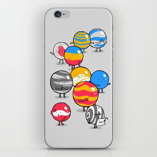 The Lost Marbles iPhone & iPod Skin