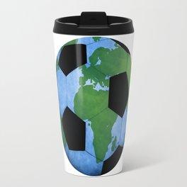 The World Of Soccer Travel Mug