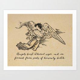 Virgil - Angels Art Print