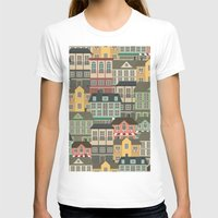 urban T-shirts featuring Urban by Julia Badeeva