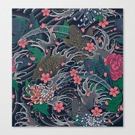 Blossom Blizzard Canvas Print