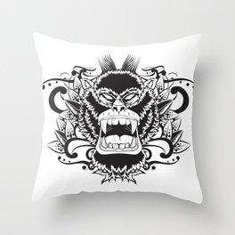Gorila Throw Pillow