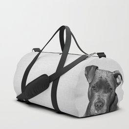 Pit bull - Black & White Duffle Bag
