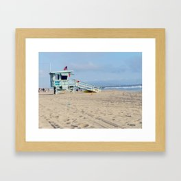Venice Beach IV Framed Art Print